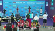 E-Prix Berlino, le immagini dal podio