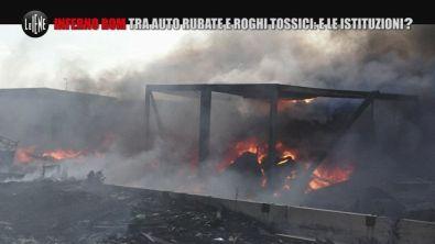 ROMA: Roma, l'inferno di un altro campo rom tra i roghi di rifiuti tossici