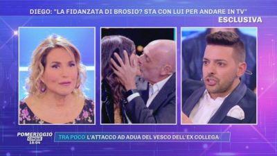 Diego Granese: ''La fidanzata di Brosio? Sta con lui per andare in tv''