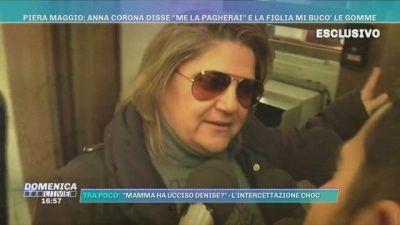 """Piera Maggio: Anna Corona disse: """"Me la pagherai"""" e la figlia mi bucò le gomme"""