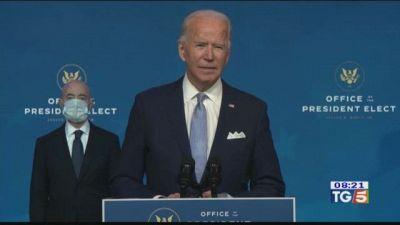 Frattura al piede per Joe Biden