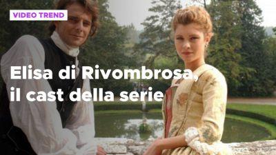 Elisa di Rivombrosa, il cast della serie