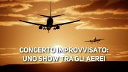 Inaspettato party all'aeroporto di Toronto