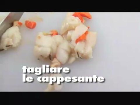 Conchiglie capesante gratinate