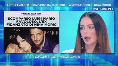La scomparsa di Luigi Favoloso, la verità di Nina Moric