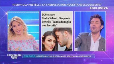 Pierpaolo Pretelli: la famiglia non accetta Giulia Salemi?