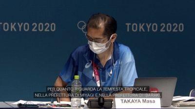 Tokyo2020, una tempesta tropicale minaccia le Olimpiadi