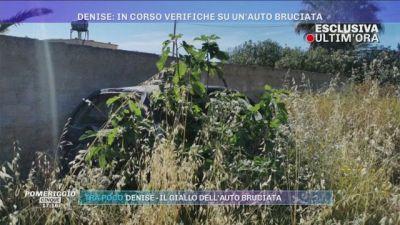 La scomparsa di Denise Pipitone: in corso verifiche su un'auto bruciata