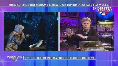 """Red Ronnie: """"Morgan è un genio e a Sanremo la musica..."""""""
