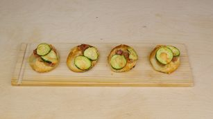 Ricetta per le pizzette di zucchine