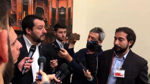Salvini: escludo governissimi, no a inciuci con Pd o M5S