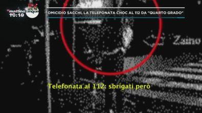Omicidio Sacchi: la telefonata al 112