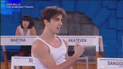 Alessandro - Gara ballo con Raimondo Todaro - 16 aprile