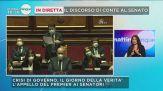 Veronica Gentili sul discorso di Conte