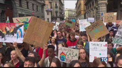 """Il mondo in piazza, """"salvare il pianeta"""""""