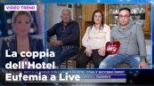 La coppia dell'hotel Eufemia a Live - Non è la d'Urso
