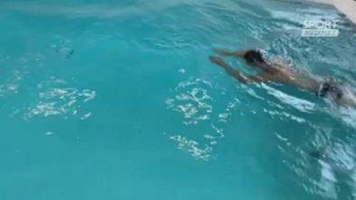 Ronaldo in piscina: missione Champions