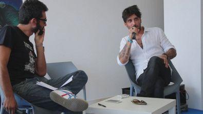 Fabrizio Moro in masterclass conquista i ragazzi