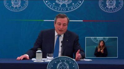 Draghi: l'obiettivo è almeno un mese di scuola in presenza