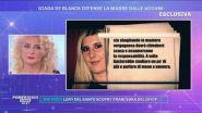 Giada De Blanck difende la madre dalle accuse