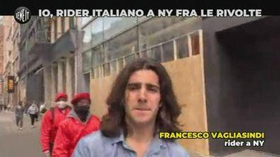 Rider italiano documenta le rivolte di New York