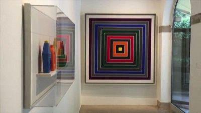 Un quadro a Venezia: trovare Frank Stella da Peggy Guggenheim