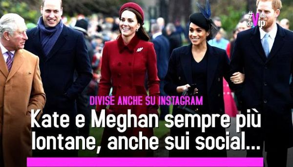 Harry e Meghan aprono il loro account su Instagram. Rottura con William e Kate anche sui social?'