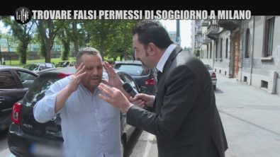 PELAZZA: Trovare falsi permessi di soggiorno a Milano