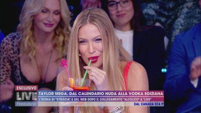 Taylor Mega: no alla vodka egiziana