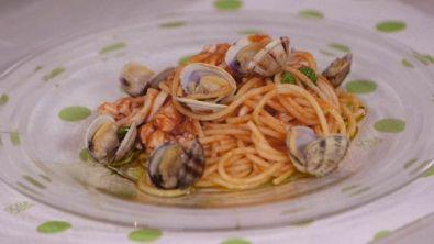 Spaghetti in salsa di mare