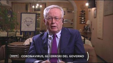 Coronavirus, gli errori del governo