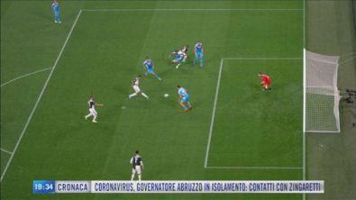 La Juve si prepara ad affrontare l'Inter