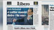 """Berlusconi, in piazza gente per bene ma dietro ci sono i """"cattivi maestri"""""""