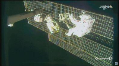 Astroluca, missione nello spazio
