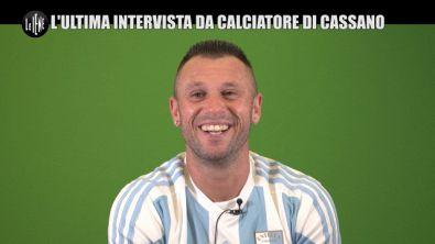 CORTI E ONNIS: Cassano: l'ultima sua intervista da calciatore a Le Iene