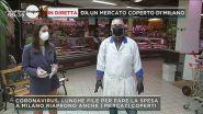 Covid-19: Mercato coperto riaperto a Milano