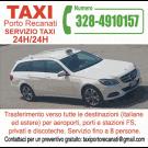 Taxi Porto Recanati