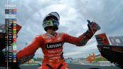 MotoGP San Marino 2021: strepitoso Bagnaia. Misano omaggia Rossi