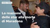 Maradona, la reazione delle star alla sua morte
