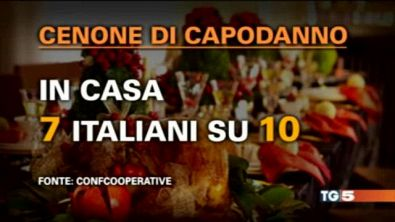 Cenone casalingo, poi si brinda made in Italy