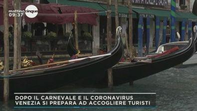 Venezia dopo il carnevale e il coronavirus