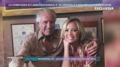 Lando Buzzanca in ospedale. Lo sfogo della compagna