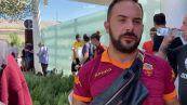 Roma, tifosi giallorossi fuori dall'aeroporto di Ciampino pronti ad accogliere Mourinho