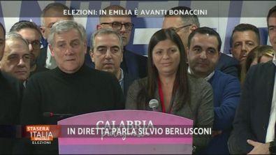 Elezioni: Parla Silvio Berlusconi