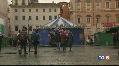 Niente mercatino a Piazza Navona