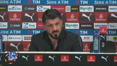 """Gattuso: """"Una sconfitta in campo e fuori"""""""