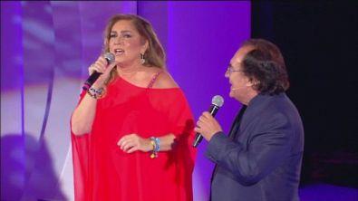 """Al Bano e Romina Power cantano """"Raccogli l'attimo"""""""