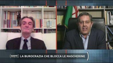 Dispositivi medici, l'intervento di Attilio Fontana e Giovanni Toti