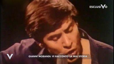 Gianni Morandi, la sua storia
