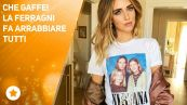 Chiara Ferragni fa infuriare Courtney Love?